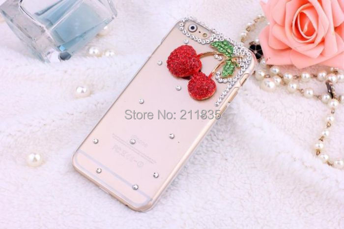Handmade Rhinestone Jewelry Diamond Transparent Ballet Girl Peacock Flower Case For Samsung Galaxy Note 2 N7100 Simple Cover(China (Mainland))