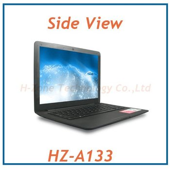 Promotion mini laptop with Intel Atom D2500 dual-core 1.86Ghz,2G RAM&320G HDD,1.3M camera,Wifi and 2cells 3200Mah battery