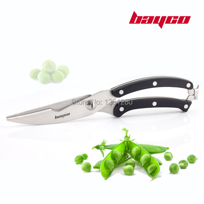 Buy free shipping stainless steel scissors Kitchen Knives Multi-purpose kitchen shears household scissors cooking tool cheap