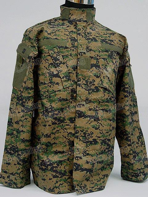 Uniforme de camouflage numérique