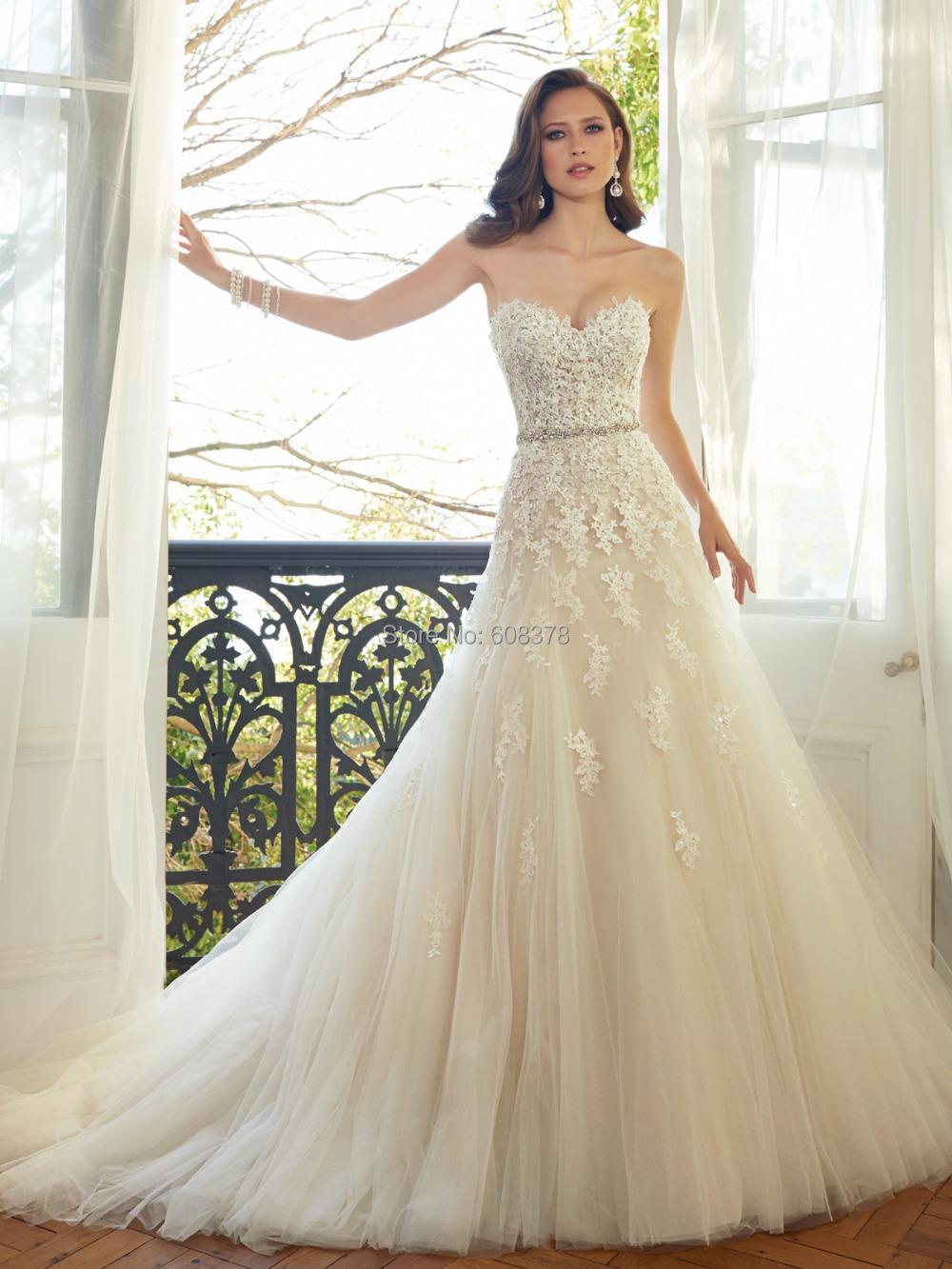 Wedding Dresses Lace Vintage