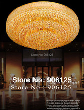 Traditional Gold Ceiling Light Fixtures  Cake Shape Chrome Crystal Ceiling Light Guaranteed 100%+Free shipping!(China (Mainland))