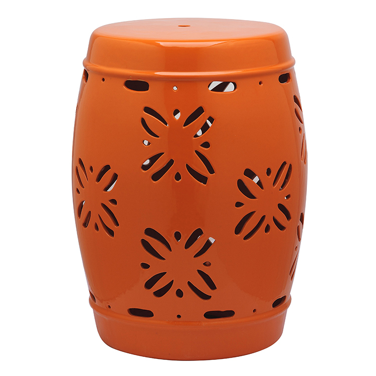 glaze ceramic stool stools pier one cool drum sitting pier pier pier ...