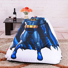 LEVMOON Sitzsack Sofa Stuhl Superman Sitz Zac Komfort Sitzsack Bett  Abdeckung Ohne Füllstoff Baumwolle Innen Sitzsack