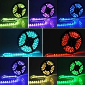 5M Waterproof 5050 SMD LED Strip 300 Leds 60LED/M Pure Cool White RGB Green Blue Red Yellow