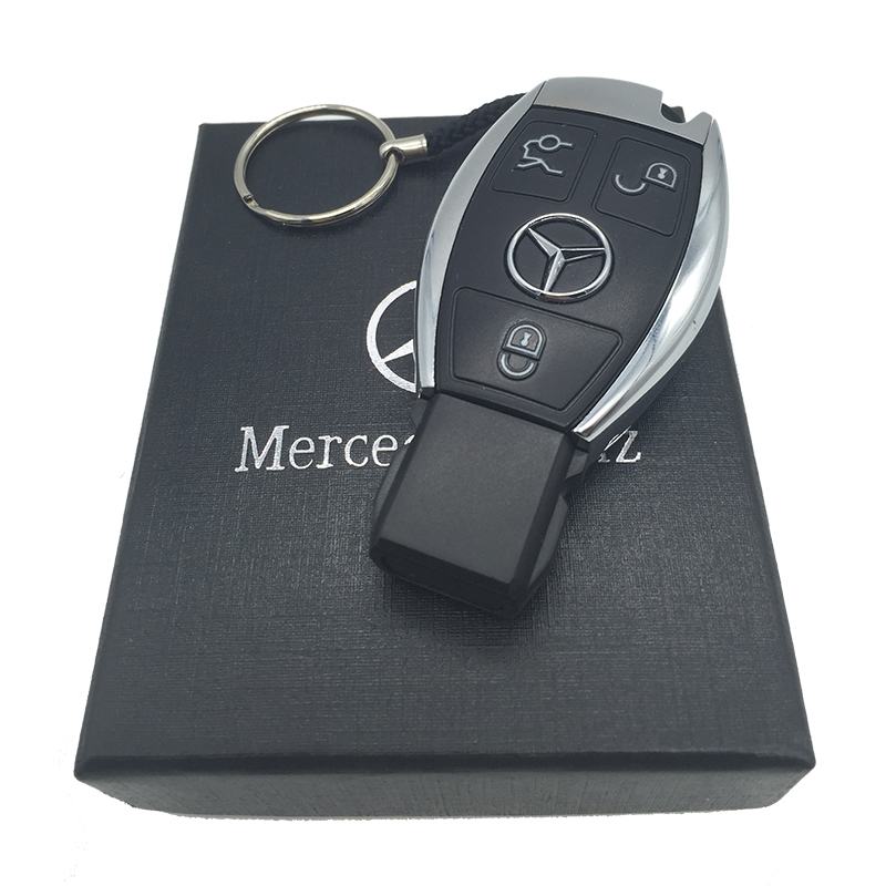 New USB Flash Drive 8GB For Mercedes-Benz The S-Class Car Keys Shape 32GB 64GB Memory Card Top Quality Pen Drive 16GB Gift box.(China (Mainland))