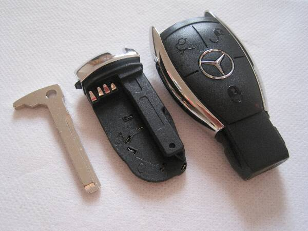 Good quality european style 3 button remote mercedes benz for Mercedes benz key battery
