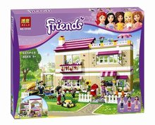 2016 new Friends series the Olivias House Model Building Block Classic girl toys figures Compatible with 3315(China (Mainland))