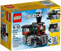 Original Brand Lego Blocks Bricks Learning Educational Models & Building Classic Toys 31015 Creator Series Emerald Express 56PCS
