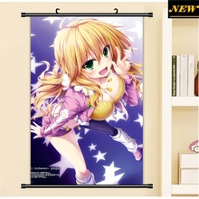 40X60CM THE iDOLM@STER Cinderella Girls Miki loli sexy cameltoe cartoon anime wall picture mural scroll poster canvas painting
