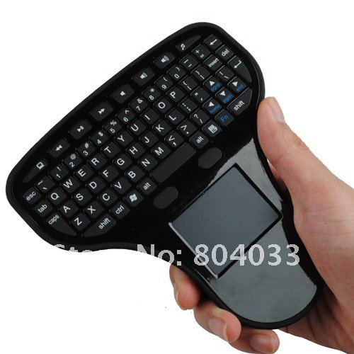 2015 2.4G Mini Wireless QWERTY Keyboard Mouse Touchpad for Tablet PC Notebook laptop Android TV Box HTPC(China (Mainland))