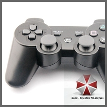 High Quality For PlayStation 3 Dualshock 3 Bluetooth Wireless Joystick Controller for PS3- Black-Black GB-000205(China (Mainland))