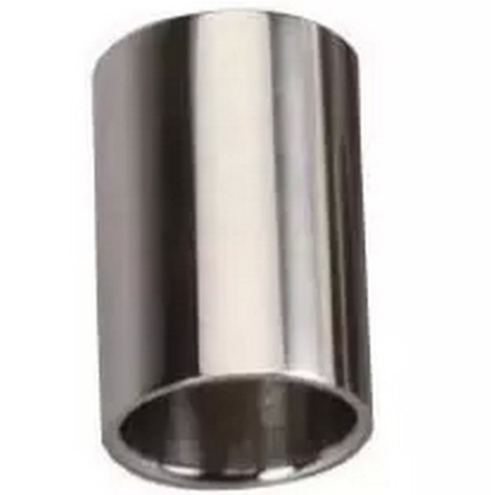 Guitar Slide Bass Cylinder Tone Bar Chrome-plated Stainless Steel Metallic Electric - Bruce cheng's store