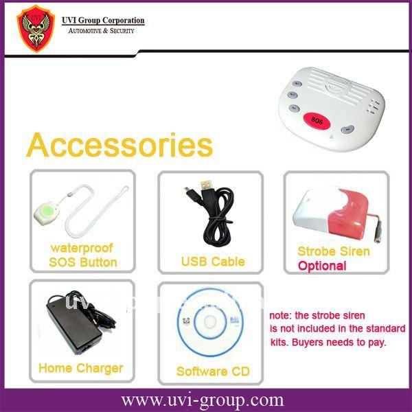 China Post Free Shipping!2pcs/lot. GSM Elderly Guardian System, Emergency help, medical alarm system GSM-B10