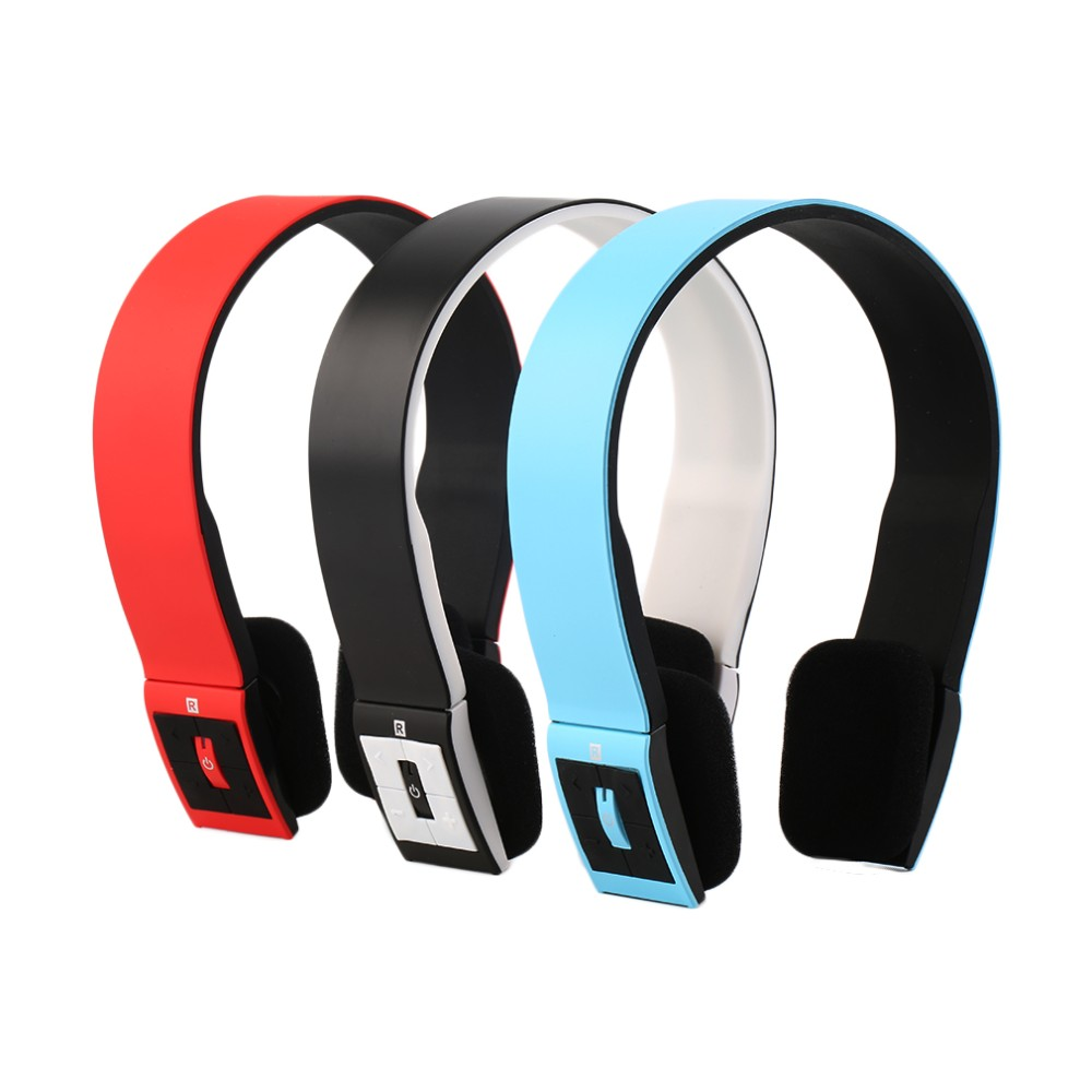New Wireless Bluetooth Headphones Sports Stereo Headset Headphone +Mic for iPhone Mobile Phones Notebooks for Samsung Wholesale