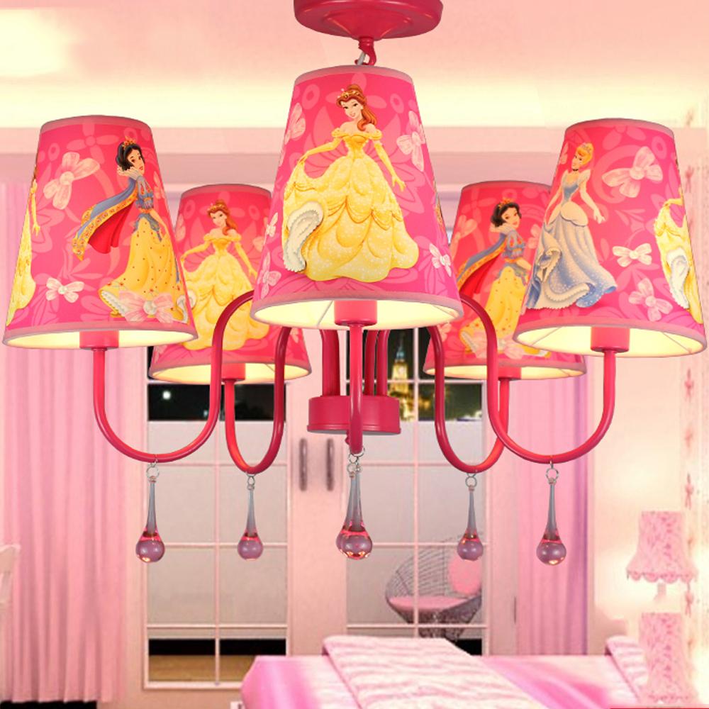 Popular pink chandelier for kids room buy cheap pink for Kids room chandelier
