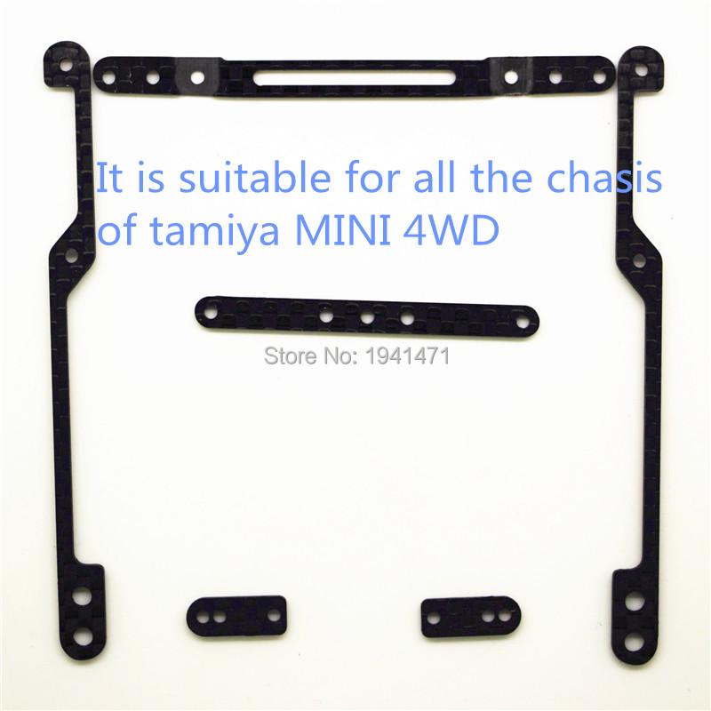 MINI 4WD1.5mm Carbon Fiber Handin Damper forBodySlam of All the Tamiya MINI 4WD Chasis Self-madePartsTamiya MINI4WD C0611Set/lot<br><br>Aliexpress