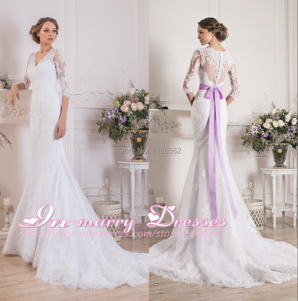 Popular purple plus size wedding dress buy cheap purple for Wedding dresses with purple trim
