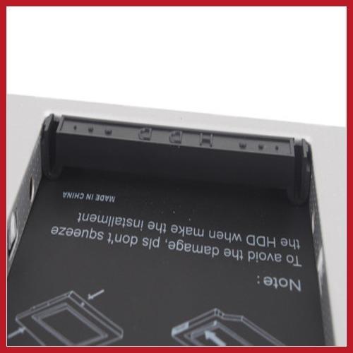 fashion brand! chinafactory 9.5mm Optical Bay 2nd SATA HDD Hard Drive Caddy Module Tray Adapter PATA IDE #1 Hot full new(China (Mainland))