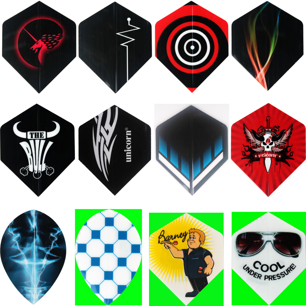 36pcs/lot New Dart Flights in 12 Kinds of Nice Patterns  Free shipping<br><br>Aliexpress