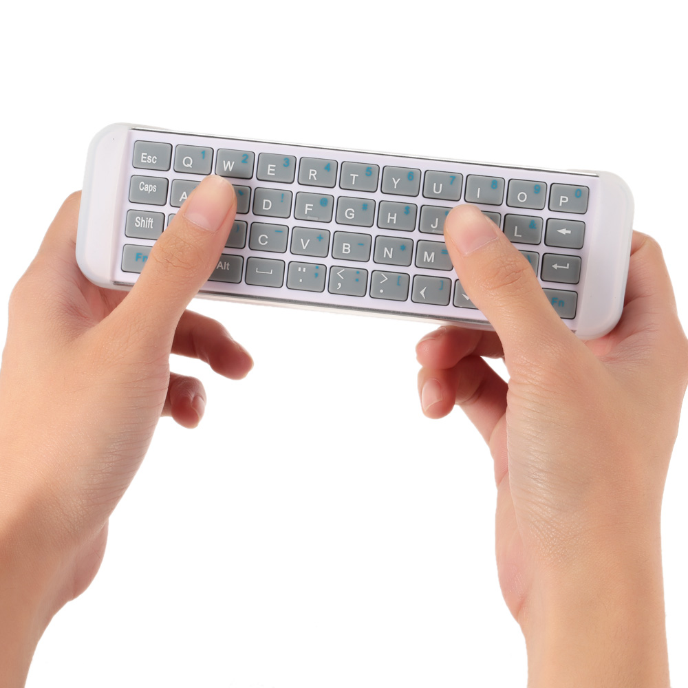 iPazzPort 2.4G RF Wireless Keyboard Mini Handheld Keyboard Remote Control for PC Laptop Android Smart TV/HTPC/Multi-Media(China (Mainland))