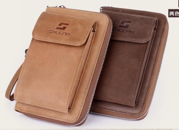mens brand wallet purse men leather genuine mens moblie phone bag man wallet carteira masculina cartera hombre billeteras 2014<br><br>Aliexpress