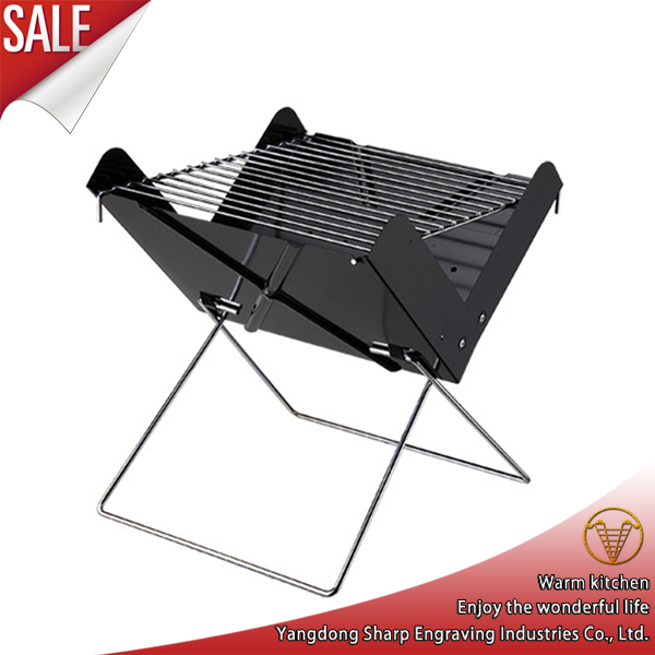 Portable Outdoor Cooking Folding BBQ Grill / Charcoal Grill(China (Mainland))