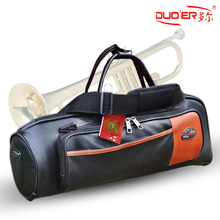 Trumpet musical bag / sleeve / bag / box B flat trumpet brass instrument piano Dole lightweight carry bag authentic(China (Mainland))