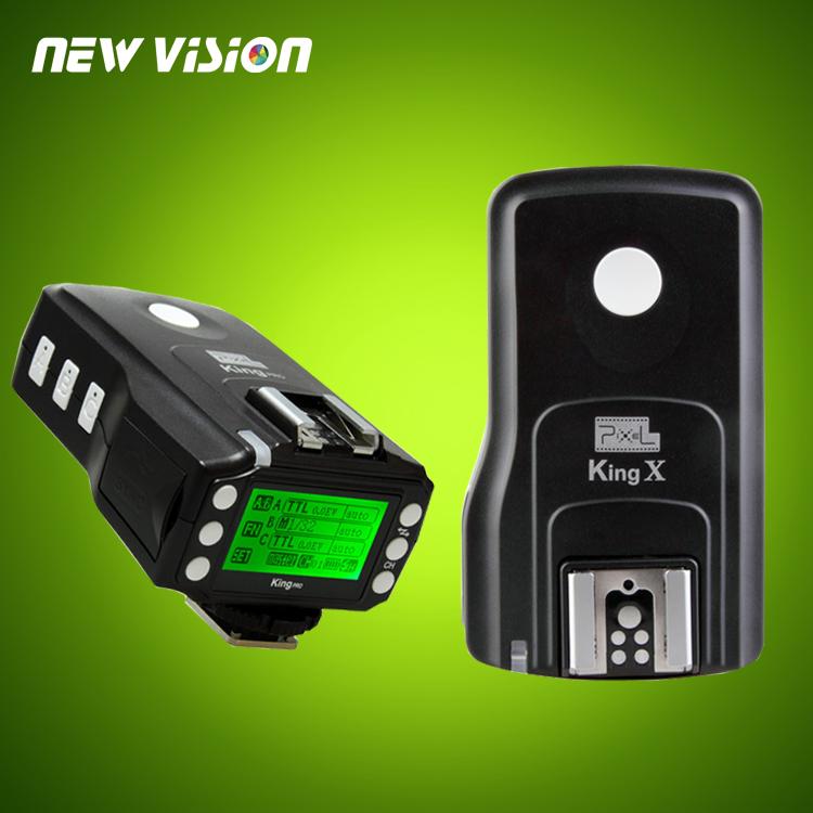 PIXEL KING Pro for NIKON I-TTL LCD Wireless Flash Trigger (Transmitter+Receiver)(China (Mainland))