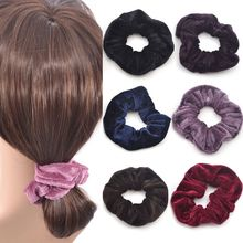Buy 2017 Hot Sale 4 Pcs Fashion Cute Women Elastic Accessories Party Hair Scrunchies Ponytail Holder Scrunchy Hairband 10 Colors for $1.19 in AliExpress store