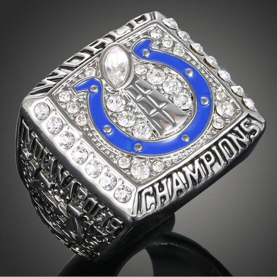 NFL 2007 Indianapolis Colts Super Bowl Championship Rings American Football World Champion Rings Men Classic Collection Jewelry(China (Mainland))