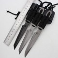 55HRC Leggings Fixed Blade 3Cr13 Knife Outdoor Survival Camping Multi Knife Diving Straight Stainless Steel Tactical