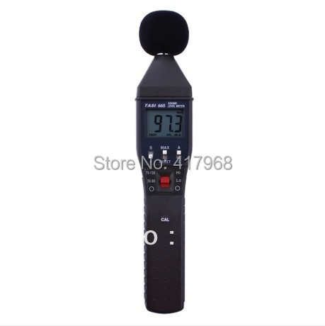FREE SHIPPING+ TASI-665 Digital Sound Level Meter Range:35~90dB,75~130dB+HOT SELL<br><br>Aliexpress