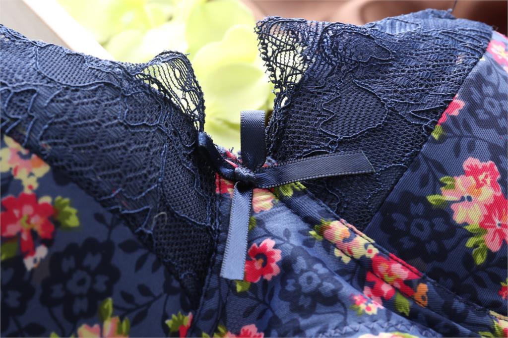 Women Underwear Japanese New Spring and Summer Rims Free vs Lace Bra Push Up Adjustable Bra & Brief Sets