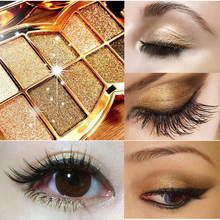 TOP Gold Box Makeup Nake BASICS 10Color Glitter Eyeshadow Palette Makeup Eye Shadow Palettes 10 Colors Cosmetic Party Masquerade