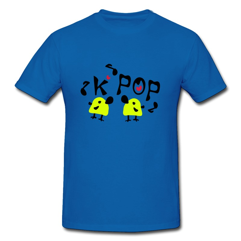 wholesale gildan tee shirt mans kpop yellow birds design