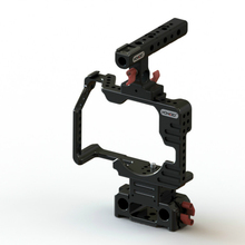 Buy Panasonic GH5 camera NEW Hontoo GH5 Rig Kit Cage Baseplate Top Handle 15mm DSLR camera rig gh5 4K 6K for $275.00 in AliExpress store
