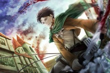 Custom Attack on Titan 3 Stylish Classic Home Decor Fashionable Mondern Poster Size (50x76cm) Wall Sticker Free ShippinG U85759