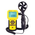 HoldPeak HP 836A Digital Wind Speed Temperature Meter Anemometer Handheld with Data Logger Feature and Carry