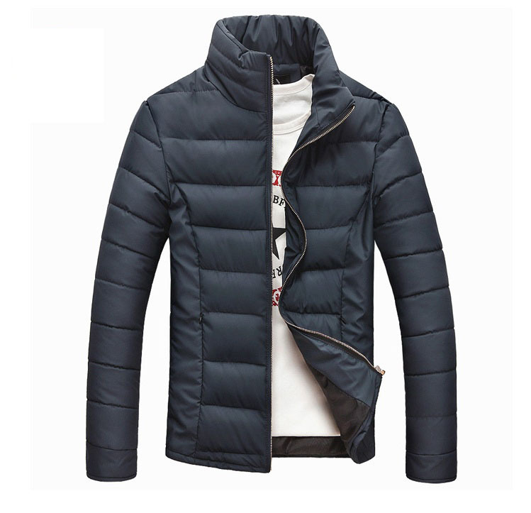 2014 Men s winter Jacket Hot selling Fashion Casual men s winter clothes men Comfortable Warm