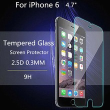 Clear Tempered Glass Film For Alppe iPhone 4 4S 5 5S SE 6 6S Plus Screen Protector Protective Film +Tools