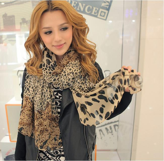2015 silk cachecol scarf chiffon scarf animal print super star shawl Women leopard designer scarves and stoles bufandas mujer(China (Mainland))
