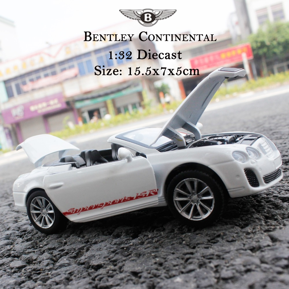 MZ Model Bentley Continental Car Model Diecast Toy Car Supersports ISR 1:32 Scale Alloy(China (Mainland))