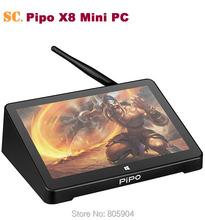 PIPO X8 Windows 10 Android 4.4 Dual Boot Intel Z3736F Quad Core Mini PC 7 Inch 1280*800 Tablet HDMI 2G RAM 32G/64G ROM(China (Mainland))