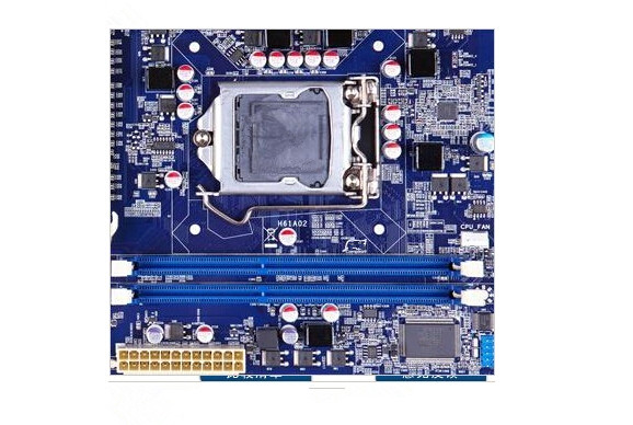 h61ap motherboard 6 * pci slot H61AP DVR board new original 2 * DIMM DDR3 1600/1333/1066MHz<br><br>Aliexpress