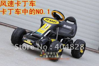free fast shipping promotion high quality children four wheel non-electric go kart with pedal