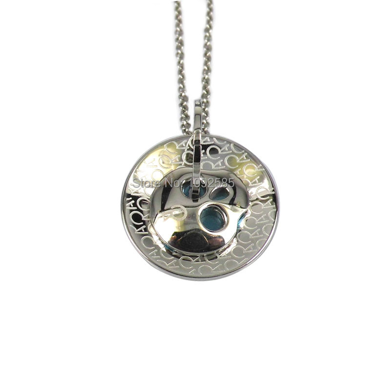 New arrival stainless steel chain necklace two in one skull pendant necklace(China (Mainland))