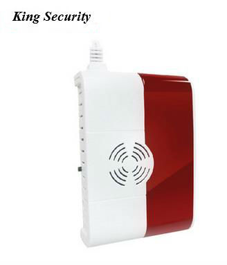 CE/RoHS Wireless/Wired natural/city gas LPG LNG Sensor Detector for Kitchen, restaurant(China (Mainland))