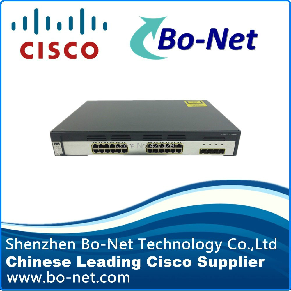 Origianl used CISCO switch WS-C3750G-24TS-S 1.5U available in stock(China (Mainland))