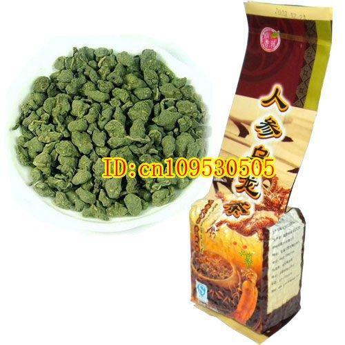 Free Shipping 500g Organic Ginseng Oolong Tea The Best Chinese Ginseng Wulong Tea Health Care Weight Loss Products(China (Mainland))